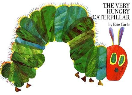1st Grade: hungry caterpillar song