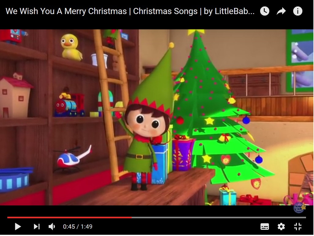 Christmas song – 2nd Grade