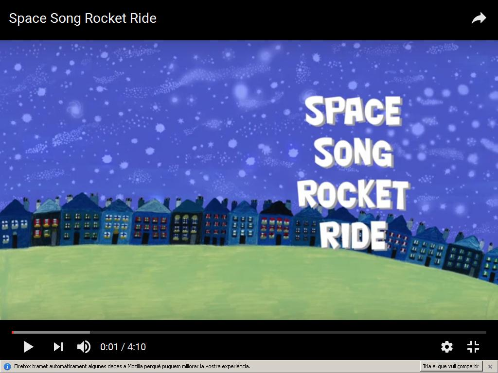 Space song – 1st Grade